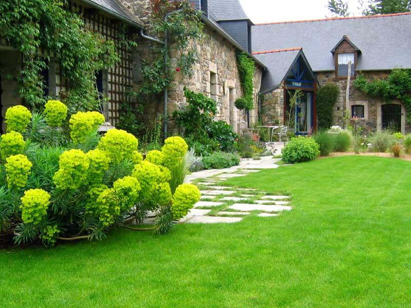 Daniel paysage cr ateur de jardins dans les c tes d 39 armor Style de jardin paysagiste