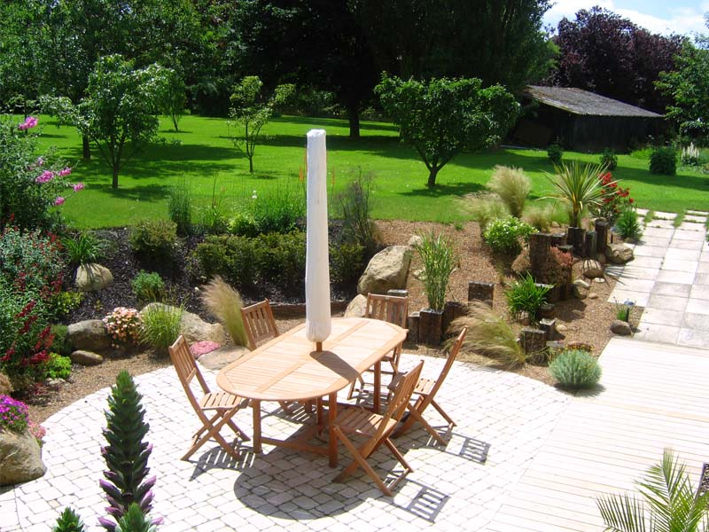 jardin d 39 authenticit daniel paysage. Black Bedroom Furniture Sets. Home Design Ideas