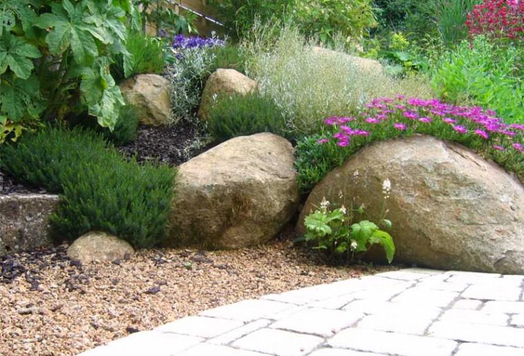 massif avec roches