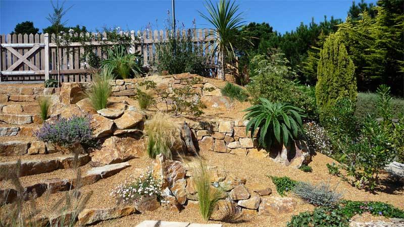 Jardin contemporain en espaliers - Daniel Paysage
