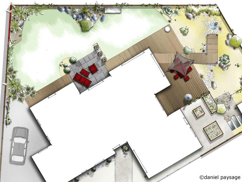 aménagement complet d'une maison neuve