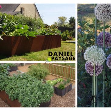Le jardin se prépare avant le printemps