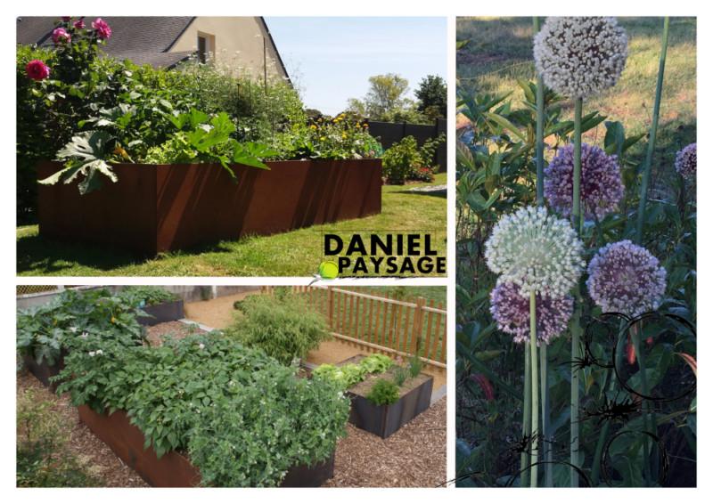 Le jardin se prépare