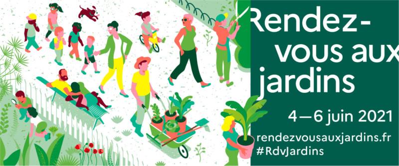 Rendez-vous aux jardins du 4 au 6 juin 2021