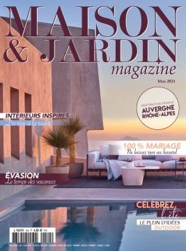 Couverture magazine Maison et Jardin Mai 2021 Le jardin une pièce à vivre